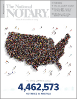 The National Notary - August 2017