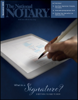 The National Notary - September 2018