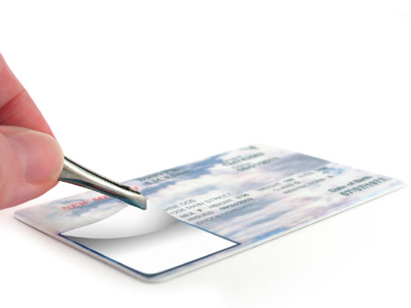 Use the FEAR system to spot fake ID