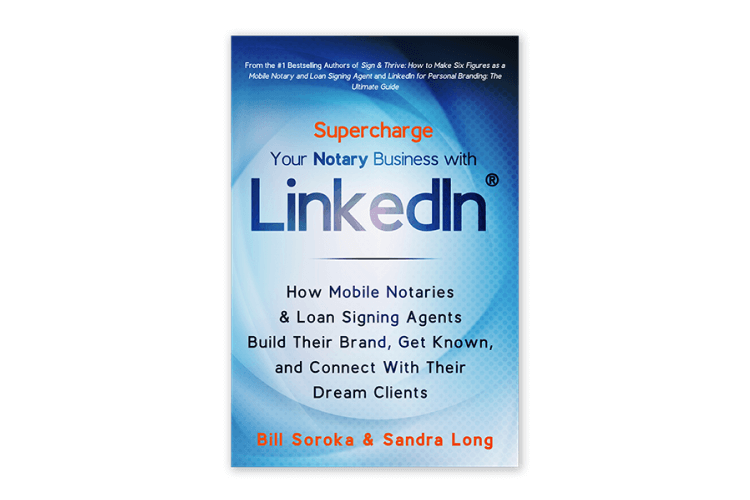 Cover of a LinkedIn marketing book