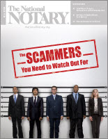 May 2018 cover of The National Notary