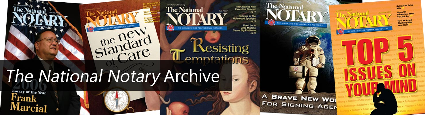 The National Notary Archive