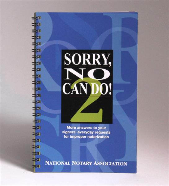 Sorry No Can Do! 2