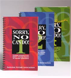 Sorry No Can Do! Book 1, 2 & 4 Set