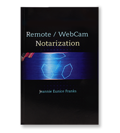 Remote Webcam Notarization