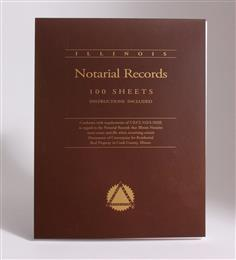 Illinois Notarial Record Pad