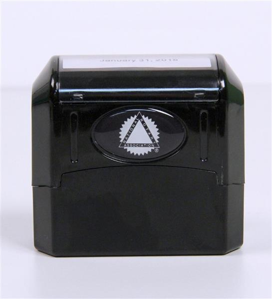 Commission-Date Value Stamp