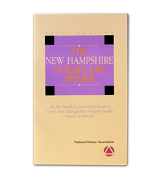 New Hampshire Notary Law Primer