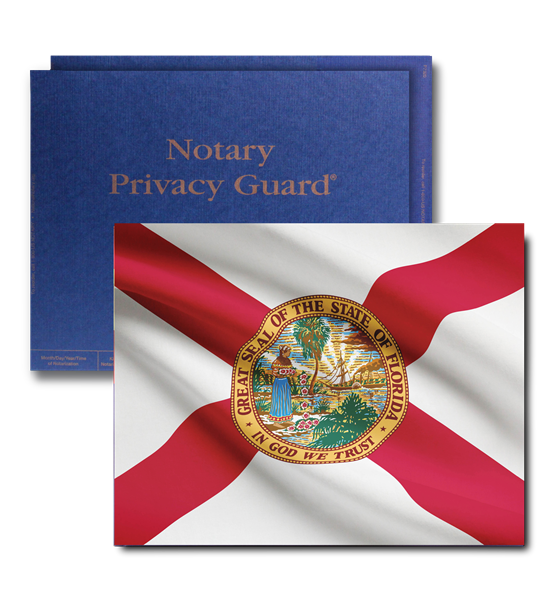 Deluxe Florida Flag Journal with Privacy Guard