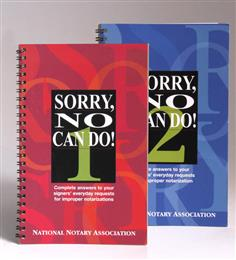 Sorry No Can Do! Book 1 & 2 Set