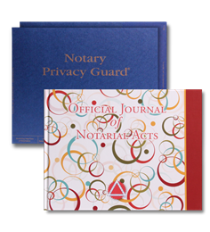Deluxe Retro Circles Journal with Privacy Guard
