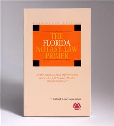 Florida State Notary Law Primer