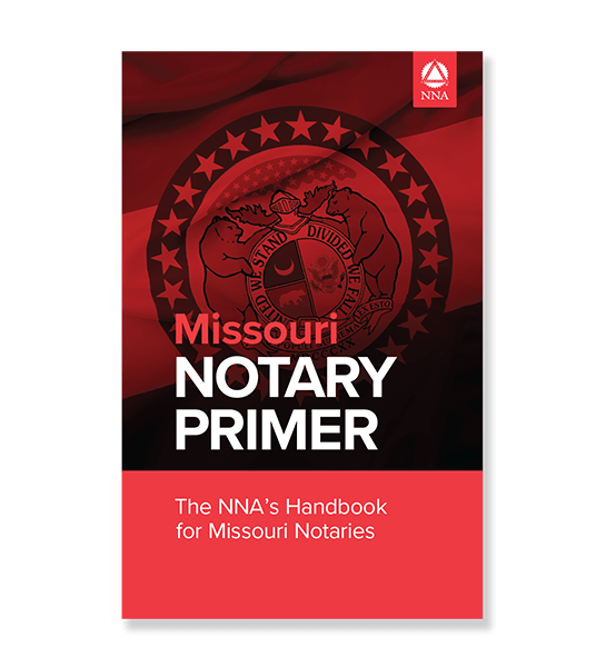 Missouri State Notary Law Primer