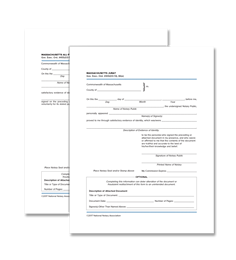 Massachusetts Acknowledgment and Jurat Certificate Bundle