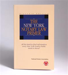 New York Notary Law Primer