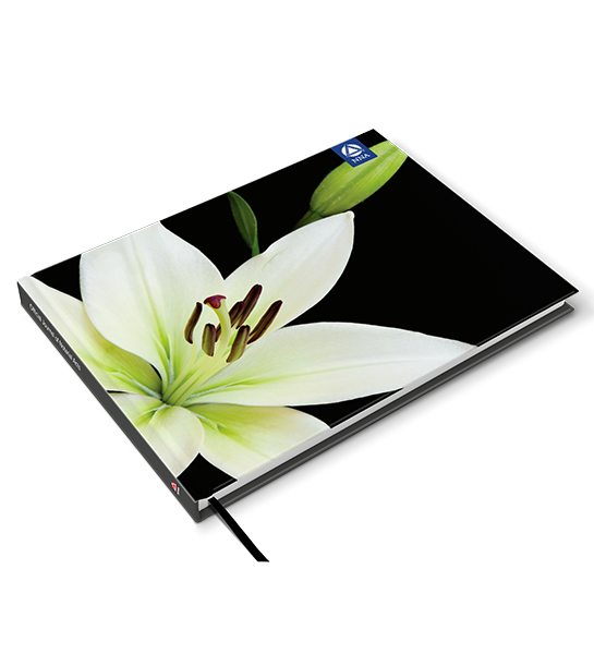 Deluxe Journal - White Lily