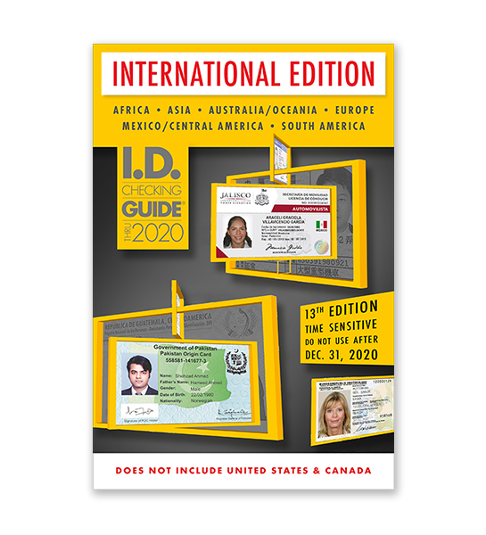 ID Checking Guide: International Edition
