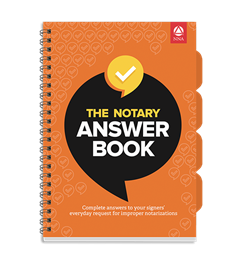The Notary Answer Book
