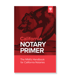 California Notary Law Primer