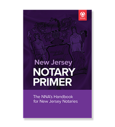 New Jersey Notary Law Primer