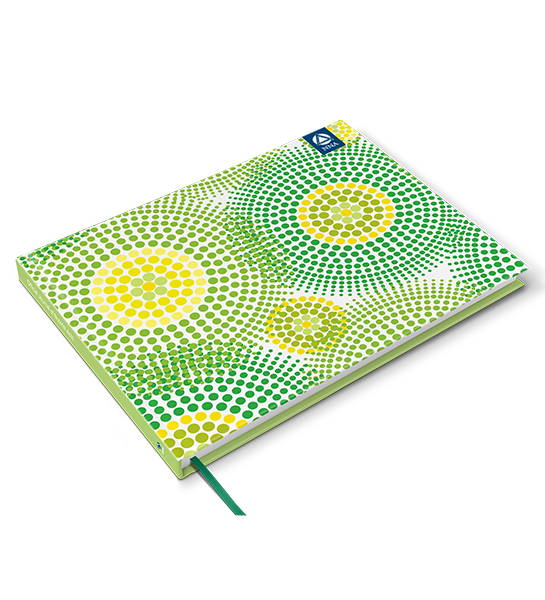 Deluxe Journal - Dot Circles