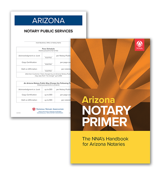 Arizona Primer & Fee Schedule Bundle
