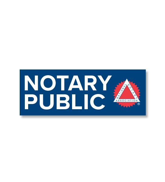 Notary Public Decal Signs | NNA