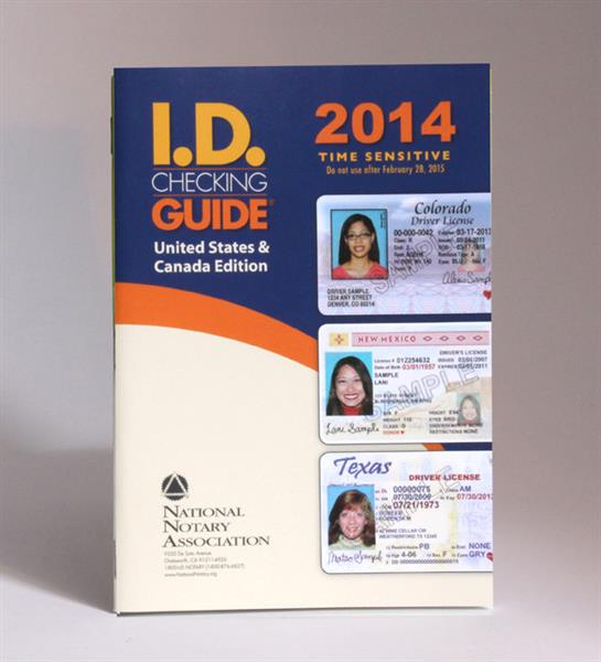 2014 ID Checking Guide: US & Canada