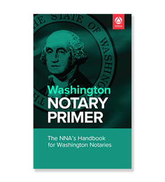 Washington Notary Law Primer