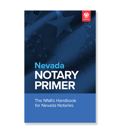 Nevada Notary Law Primer